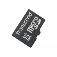 Карта памяти Transcend microSD  512Mb