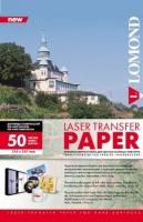 Lomond 0807430  трансферная бумага для цв. лазерной печати A4, 50 л. (темн.ткань)